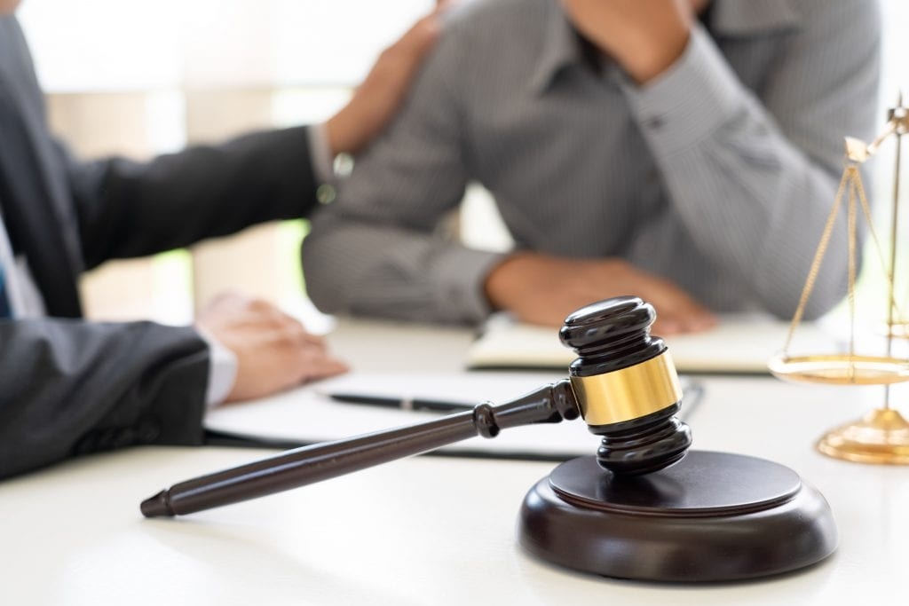 Consultation with an attorney