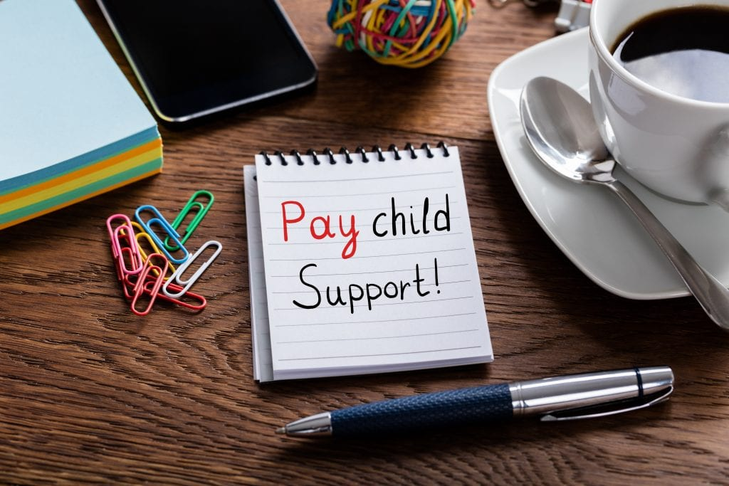Texas provides adjustments for child support where SSI/SSA programs based on child support payments.