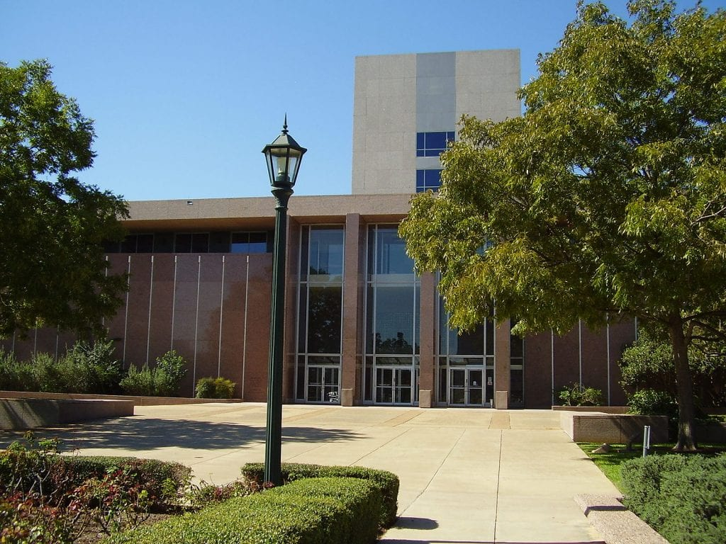 Supreme Court of Texas building in Austin, Texas
