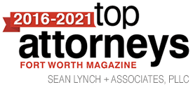 2018-2020 top family law attorneys recognition from fort worth magazine